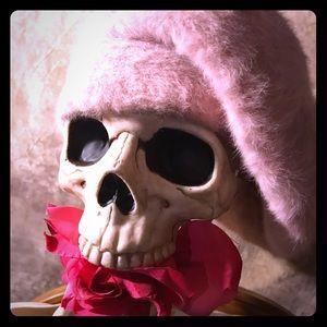 August Pastel Pink Beret